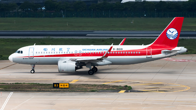 B-8681 - Airbus A320-271N - Sichuan Airlines