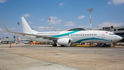 TC-TLH - Boeing 737-8K5 - Wings of Lebanon