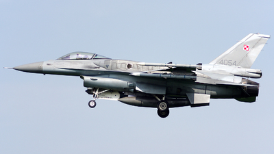 4054 - Lockheed Martin F-16CJ Fighting Falcon - Poland - Air Force