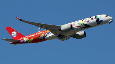 F-WZGT - Airbus A350-941 - Sichuan Airlines