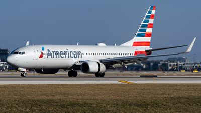 A picture of N981AN - Boeing 737823 - American Airlines - © Haocheng Fang