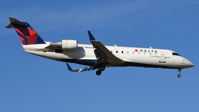 A picture of N8896A - Mitsubishi CRJ200LR - Delta Air Lines - © Jake Oesterreich