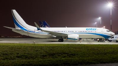 SP-EXA - Boeing 737-8 MAX - Enter Air