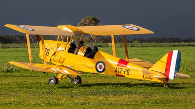 VH-UEQ - De Havilland DH-82A Tiger Moth - Private