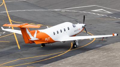 A picture of ZKPLT - Pilatus PC12/45 - Sounds Air - © Reuben Morison