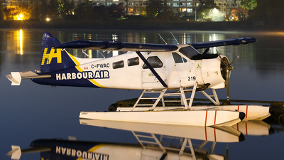 C-FWAC - De Havilland Canada DHC-2 Mk.I Beaver - Harbour Air