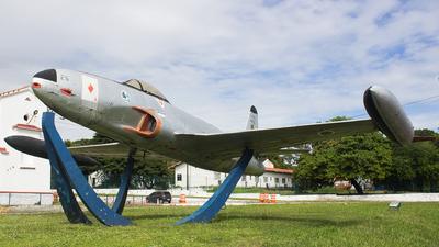 FAB4225 - Lockheed F-80C Shooting Star - Brazil - Air Force