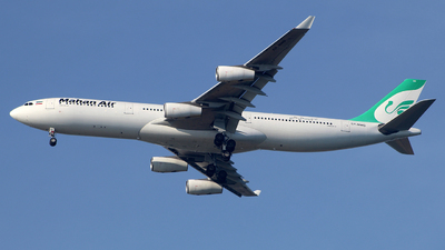 EP-MMD - Airbus A340-313X - Mahan Air