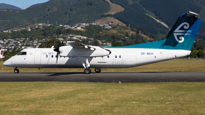 ZK-NEH - Bombardier Dash 8-Q311 - Air New Zealand Link (Air Nelson)