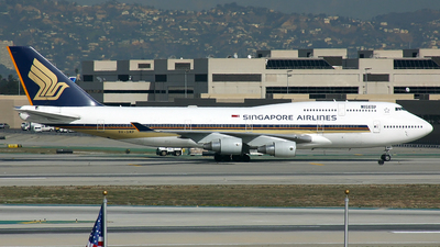 9V-SMP - Boeing 747-412 - Singapore Airlines