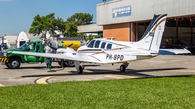 A picture of PRBPD - Beech 58 Baron - [TH2034] - © Radioactivity