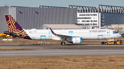 D-AVXR - Airbus A321-251NX - Vistara