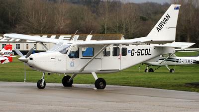 A picture of GSCOL - Gippsland GA8 Airvan - [GA805088] - © n94504