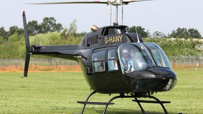 G-HANY - Agusta-Bell AB-206B JetRanger III - Private