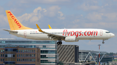 A picture of TCCPL - Boeing 73782R - Pegasus Airlines - © Justin Stöckel