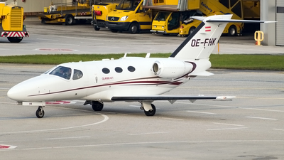 OE-FHK - Cessna 510 Citation Mustang - GlobeAir
