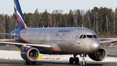 A picture of VPBTJ - Airbus A320214 - Aeroflot - © ShipSash