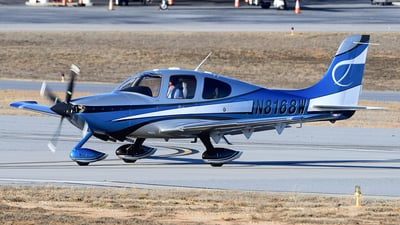 N8168W - Cirrus SR22 - Private
