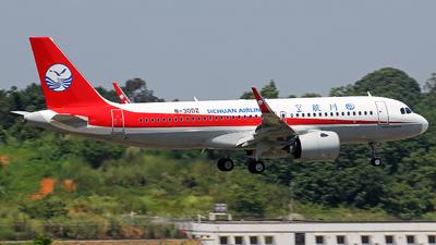 B-30DZ - Airbus A320-271N - Sichuan Airlines