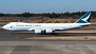 A picture of BLJD - Boeing 747867(F) - Cathay Pacific - © NRTspt_T93