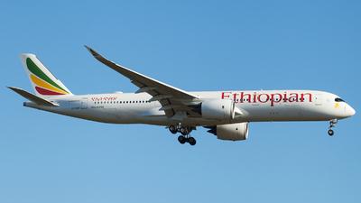 A picture of ETAUC - Airbus A350941 - Ethiopian Airlines - © Alexander Schürmann