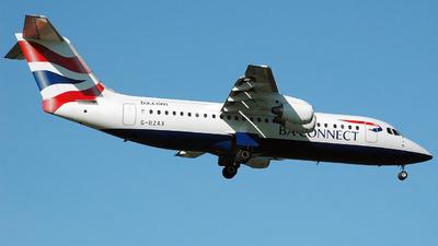 G-BZAX - British Aerospace Avro RJ100 - BA Connect