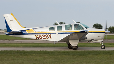 N828V - Beechcraft A36 Bonanza - Private