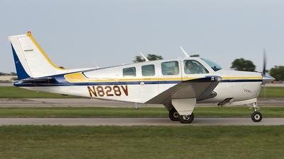 N828V - Beechcraft A36 Bonanza - Private