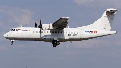 A picture of HK5070 - ATR 42500 - EasyFly - © eifer_dsi