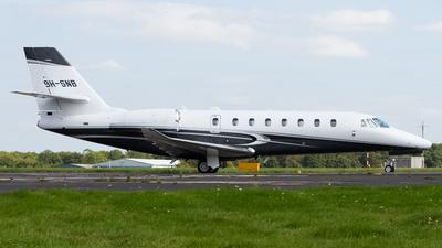 9H-SNB - Cessna 680 Citation Sovereign Plus - Private