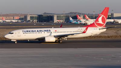 TC-JFU - Boeing 737-8F2 - Turkish Airlines