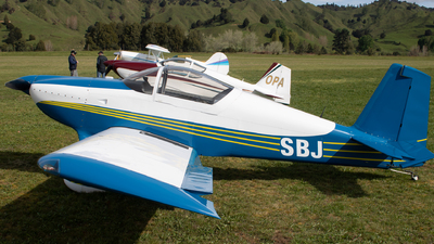 ZK-SBJ - Vans RV-7 - Private