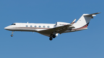A picture of N468QS - Gulfstream G450 - NetJets - © Matteo Lamberts