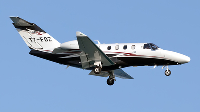 T7-FOZ - Cessna 525 Citation CJ1 - Private