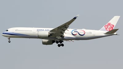 B-18917 - Airbus A350-941 - China Airlines