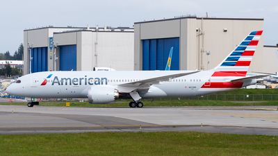 A picture of N873BB - Boeing 7878 Dreamliner - American Airlines - © Nick Sheeder