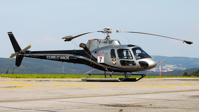 F-HFBF - Aérospatiale AS 350B2 Ecureuil - Private