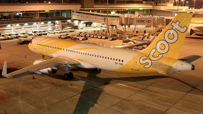 9V-TRK - Airbus A320-232 - Scoot