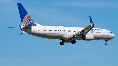 A picture of N39461 - Boeing 737924(ER) - United Airlines - © Haocheng Fang