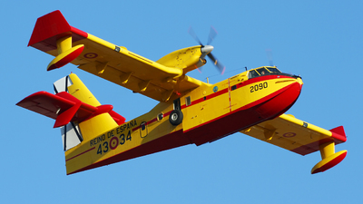 UD.14-04 - Canadair CL-415 - Spain - Air Force