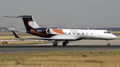 N551VL - Gulfstream G550 - Private
