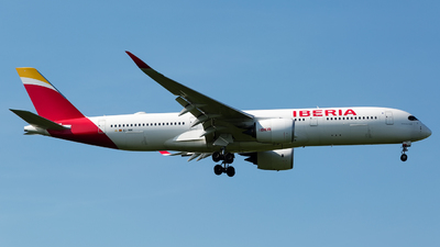 A picture of ECNBE - Airbus A350941 - Iberia - © Chris Pitchacaren