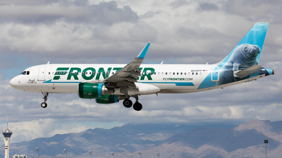 A picture of N238FR - Airbus A320214 - Frontier Airlines - © Alexandre Fazan