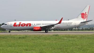 PK-LFT - Boeing 737-9GPER - Lion Air