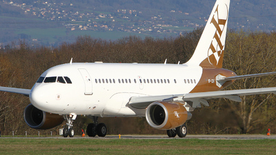 VP-CKH - Airbus A318-112(CJ) Elite - Executive Jet Aviation