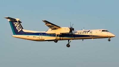 A picture of JA844A - De Havilland Canada Dash 8400 - All Nippon Airways - © S Waki