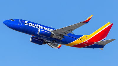 A picture of N201LV - Boeing 7377H4 - Southwest Airlines - © HA-KLS