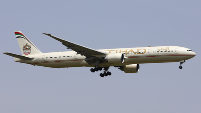 A picture of A6ETP - Boeing 7773FX(ER) - Etihad Airways - © Spark Liu