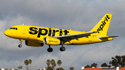 N517NK - Airbus A319-132 - Spirit Airlines