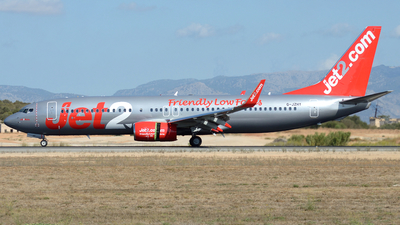 G-JZHY - Boeing 737-8MG - Jet2.com